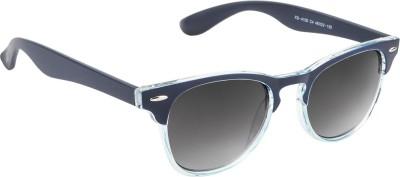Funky Boys FB-4100-C4 Wayfarer Sunglasses(Grey)
