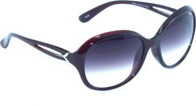 IDEE IDEE-2024-C6 Oval Sunglasses(Black)