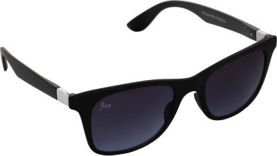Floz 007SM Black & White Wayfarer Sunglasses. Rectangular Sunglasses