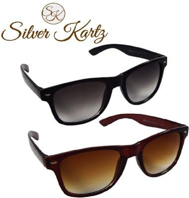 Silver Kartz Combo Affair Wayfarer Sunglasses