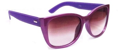 Anti Gravity uv_101 purple Cat-eye Sunglasses