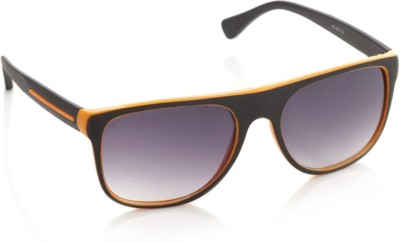 Joe Black JB-487-C3 Rectangular Sunglasses(Violet)