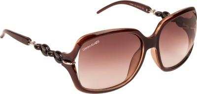 Danny Daze D-4004-C2 Over-sized Sunglasses(Brown)