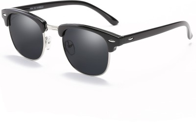 Chemistry CM828C2 Wayfarer Sunglasses(Black) at flipkart