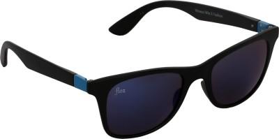 Floz 007SM Black & Blue Wayfarer Sunglasses. Rectangular Sunglasses