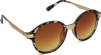 6by6 SG999 Round Sunglasses(Brown)