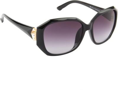 Farenheit 1243-C1 Rectangular Sunglasses(Grey)