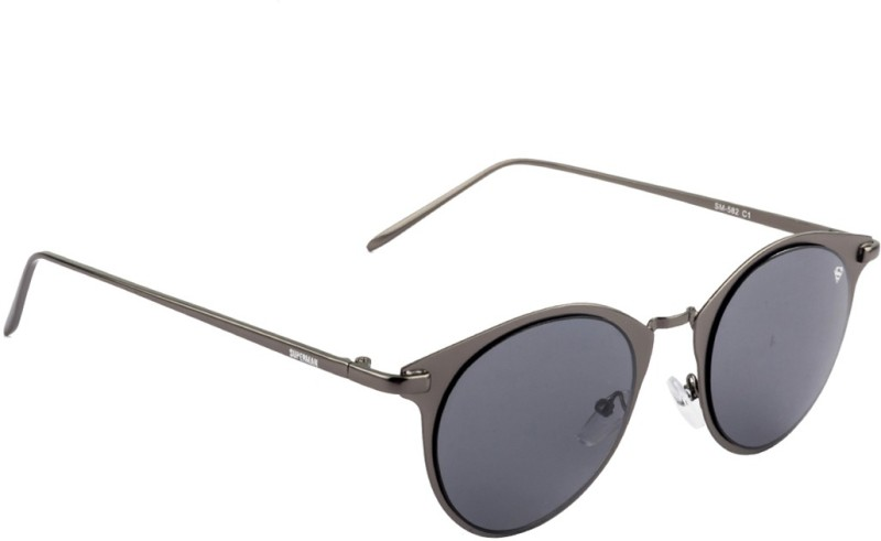 Superman SM-582-C1 Round Sunglasses(Grey)