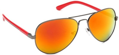 Olvin OL261-03 Aviator Sunglasses(Orange)
