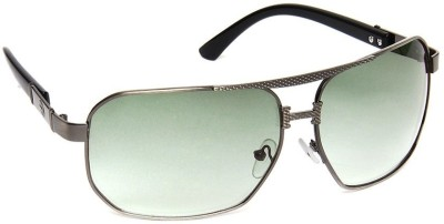 Olvin OL253-03 Aviator Sunglasses(Green)