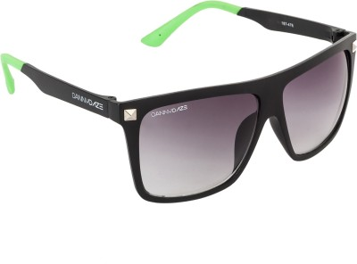 Danny Daze D-3202-C2 Rectangular Sunglasses(Violet)
