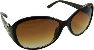 Els Designer Oval Sunglasses