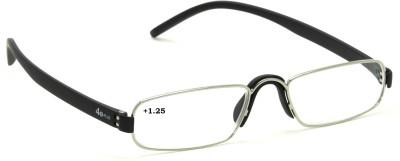 40 XPLUS Reading EyeGlass Power +1.25 Rectangular Sunglasses