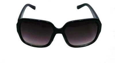 Anti Gravity uv_108 Black Cat-eye Sunglasses