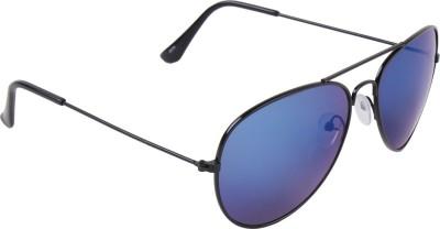 Irayz Mercury Coating Aviator Sunglasses