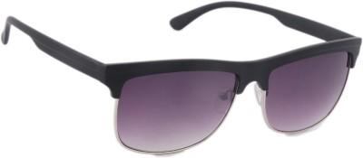 Joe Black C1 Oval Sunglasses(Violet)
