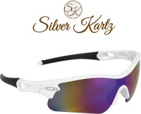 Silver Kartz Unisex Sport Men and Women Sports Sunglasses(Multicolor)