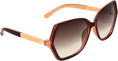 Zyaden SW357 Over-sized Sunglasses(Black)