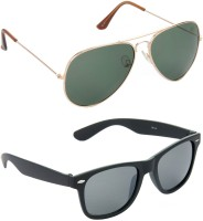 Hrinkar HCMB112_1 Aviator Sunglasses(For Boys)