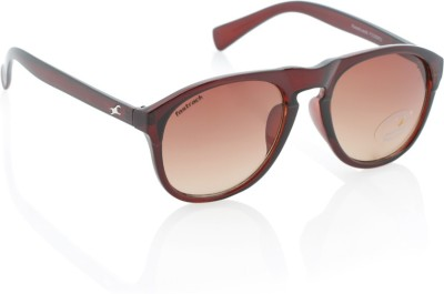 Fastrack P239BR2 Wayfarer Sunglasses(Brown)