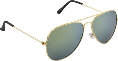 IRAYZ 1247 Aviator Sunglasses(Green)