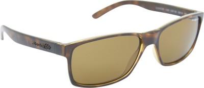 Arnette AN_4185_BRNBRN Rectangular Sunglasses(Brown)