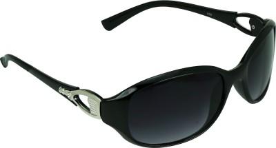 Garmor (8903522114694 /Black Color Black Frame) Oval Sunglasses