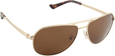 Farenheit 1823 Aviator Sunglasses(Brown)