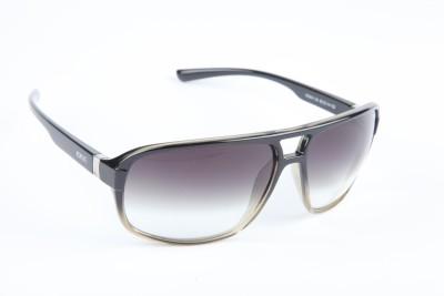 IDEE IDEE-1914-C4 Wrap-around Sunglasses(Black)