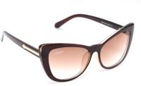 Amaze AM0913 Cat-eye Sunglasses(Brown)