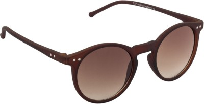 IRAYZ 1255 Round Sunglasses(Brown)