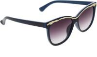 Vast HORSE_96022_BLUEGOLD Cat-eye Sunglasses(Violet)