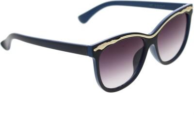 Vast Women_96022_BLUEGOLD Over-sized Sunglasses(Grey)