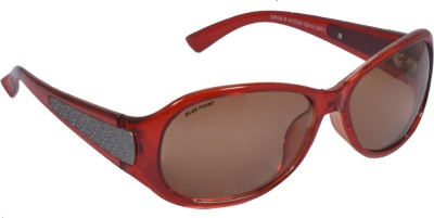 Blue Point Round Sunglasses