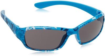 Hotwheels Wrap-around, Rectangular Sunglasses