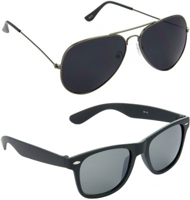 Red Leaf RCMB083_1 Aviator, Wayfarer Sunglasses(For Boys)
