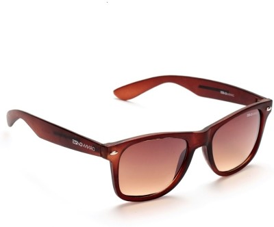 Danny Daze D-1704-C6 Wayfarer Sunglasses(Brown)