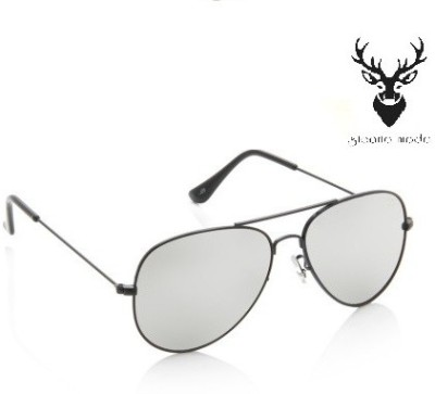 Sicario Moda Fassino Aviator Sunglasses