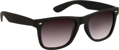 Provogue PV102-Blk-Blk Wayfarer Sunglasses(Grey) at flipkart