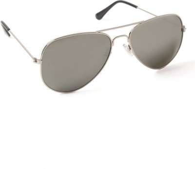 6by6 SG155 Aviator Sunglasses(Grey)