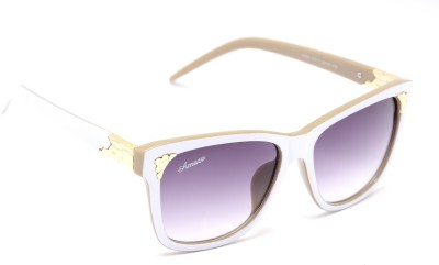 Amaze AM0813 Wayfarer Sunglasses(Grey)