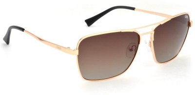 IDEE IDEE S2134 C2P 60 Aviator Sunglasses(Brown)