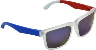 Alphaman American Rebel Original Blue Wayfarer Sunglasses