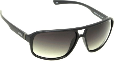 IDEE IDEE-S1914-C11P Wrap-around Sunglasses(Black)