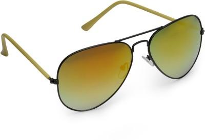 Olvin OL264-09 Aviator Sunglasses(Golden)