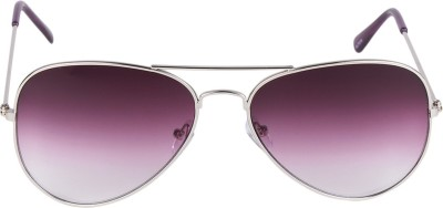 HDClair Solid Charm Aviator Sunglasses