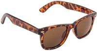 Farenheit FA-970-c3 Oval Sunglasses(Brown)