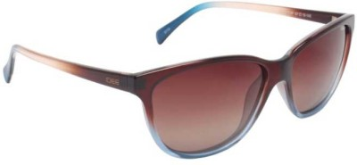 IDEE S1868,C2P Cat-eye Sunglasses(Brown)