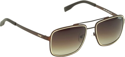IMAGE IM-572-C3P Rectangular Sunglasses(Brown)