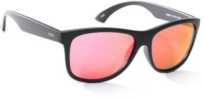 IDEE IDEE S1990 C6 57 Wayfarer Sunglasses(Grey, Pink)